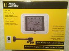 National Geographic Home Weather Station with Wind Speed - NEW In Box Reg $120