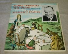 More Winnie The Pooh LP Maurice Evans Pathways Of Sound Eeyore Losses A Tail