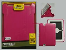 """OtterBox Defender, Amazon Kindle Fire HD 7"""" 1st Gen. Pink White 77-27816"""