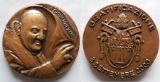 Vaticano medaglia per la beatificazione di papa Giovanni XXIII 2000