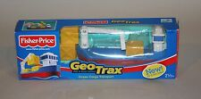 Fisher-Price GeoTrax Train Set Complete in Box Ocean Cargo Transport G5543