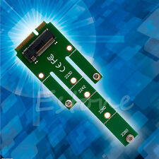 Mini NGFF M.2 B Key SATA-Based SSD to PCI-e mSATA Adapter Card 2230 2242 2260/80