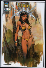 Michael Turner 's Fathom Blue Descent #1 David Finch Variant Cover B US Aspen NM