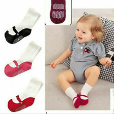 3 Pairs/set Baby Boys Girls Anti Slip Cotton Socks shoes 9-12CM for 0-18 Months