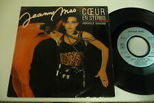JEANNE MAS 45T COEUR EN STEREO / OH MAMA.SEXY COVER CHEESECAKE.