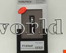 1x Furutech FT-610mF Connector Rhodium 4 Pin Mini XLR Female Audeze LCD-2 LCD-3
