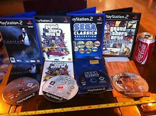 GTA San Andreas GTA 3 Constantine Sega Classics PS2 Playstation 2 Games Bundle