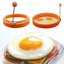 Kitchen Cooking Fried Egg Shaper Mold Ring Round Shape Pancake Mould Tool FG