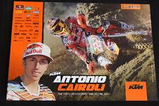Card Red Bull KTM 350 SX-F 2013 #222 Antonio Cairoli (ITA) MX1 (HW)