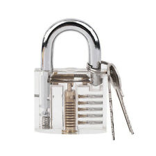 New Pick Cutaway Inside View Padlock Lock Locksmith Practice Training Skill Set