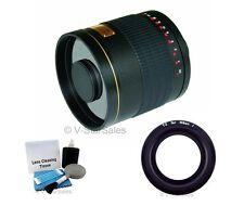 Rokinon 500mm Mirror Lens 6.3 Black Nikon 1 Series 1 V1 1 J1 1 J2 1 S11 V21 J3