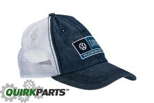 NEW VW Volkswagen Driver Gear Denim Garage Service Cap Hat Mesh Back DRG014903