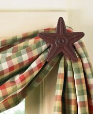 Red Star Cast Iron Curtain Hook Set by Park Designs - Curtain Hooks