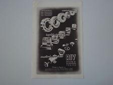 advertising Pubblicità 1946 RIV CUSCINETTI - REGISTRATORI DI CASSA