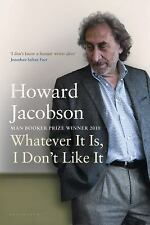 Whatever It Is, I Don't Like It: The Best of Howard Jacobson-ExLibrary