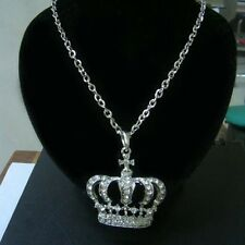 Big Crown Faux Dia Pendant Comes With