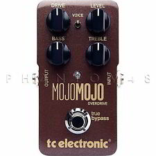 TC Electronic Mojo Mojo Overdrive/Distortion Guitar Electronics Effect Pedal NEW