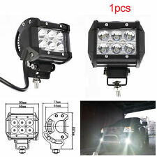 "18W LED Work Light Bar Beam Spot Off road Driving Fog Lamp SUV ATV 4WD 4"" CREE"