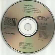 Blood Sweat & tears RANDY BERNSEN Be Still and Know EDIT& EXTEND PROMO CD single
