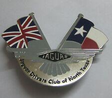 CAR BADGE -1JAGUAR CLUB OF NORTH TEXAS CAR GRILL BADGE EMBELM MG JAGUAR TRIUMPH