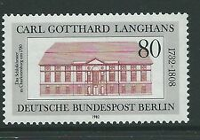 GERMANY SGB646 1982 250th BIRTH ANNIV OF CARL GOTTHARD LANGHANS MNH