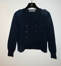 CHIC ALEXANDER WANG MILITARY INSPIRED JACKET CARDIGAN SIZE S