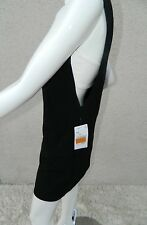 NWT Zara Basic Dress Black & White Side Cutout Sleeveless Dress Size XS