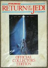 STAR WARS ~ RETURN OF THE JEDI ~ OFFICIAL COLLECTORS EDITION ~ MAGAZINE 1983