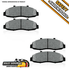 Front Premium Metallic Brake Pads Pair 1999 2000 2001 2002 2003 FORD WINDSTAR