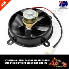 "6"" Radiator Engine COOLING FAN for Thumpstar Atomik ATV UTV Buggy Dirt Bike 12v"