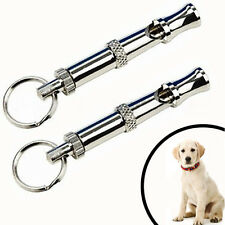 Adjustable Pet Dog Listen Training Supersonic UltraSonic Obedience Sound Whistle