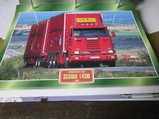 Super Trucks Mehrzweck LKWs Schweden Scania 143M 1992