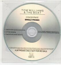 (ET447) Tom Williams & The Boat, Concentrate - 2010 DJ CD