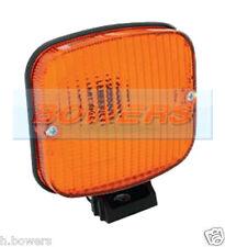 SIM 3132 12V / 24V VOLT BRACKET MOUNT Amber Arancione Indicatore di Direzione Luce / Lampada