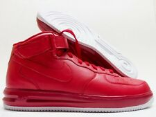 """NIKE AIR FORCE 1 HIGH ID """"RED OCTOBER"""" RED/WHITE SIZE MEN 12.5 [808790-995]"""