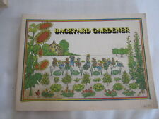 Backyard Gardener A Guide to Gardening in Maine and Other Cold Climates (1977)