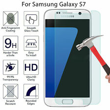Premium HD Tempered Glass Screen Protector Guard Film For Samsung Galaxy S7 New