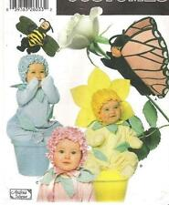 Simplicity Pattern 5881 7868 Bee Flower Pot Butterfly Costume Toddler 1/2 - 4