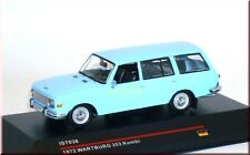 Wartburg 353 Kombi estate car wagon ( 1972 ) - blau blue - IXO IST038 - 1:43