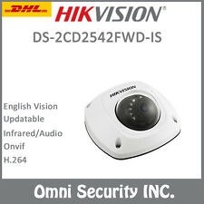 Hikvision DS-2CD2542FWD-IS 4MP POE IP Camera 1080P Audio WDR Mini Dome SD Card