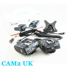 Viltrox FC-210C 2.4GHz E-TTL Wireless Flash Trigger for Canon 6D 70D 580EX II UK