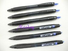 6Pcs Uni-Ball JetStream SXN-157S Retractable 0.7mm Fine Ball Point Pen, BLUE
