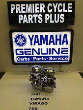 1983 YAMAHA VIRAGO XV 750 SET OF HITACHI CARBS CARBURETORS