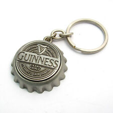 Genuine Guinness Crown Cap Key Ring Keyring Bottle Opener Sil 2080