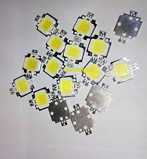 10pcs 10Watt white High Power LED SMD  Chips bulb light  DC9-12V