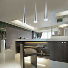 Single Head LED Pendant Light Modern Cone Metal Ceiling Hanging Lamp For Indoor