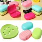Soap Box Dish Case Holder Container Home Bathroom Shower Travel Hiking 13pattern