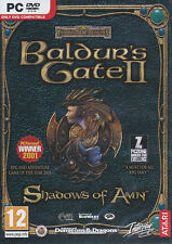 Baldur's Gate II 2 SHADOWS OF AMN Atari RPG PC Game NEW
