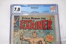 Sub-Mariner #1 (May 1968, Marvel) CGC 7.0 Origin of Sub-mariner Retold OW Pages