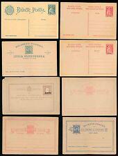 Portugal colonies sao a pris du madère inde guinée entiers postaux mint... 8 objets